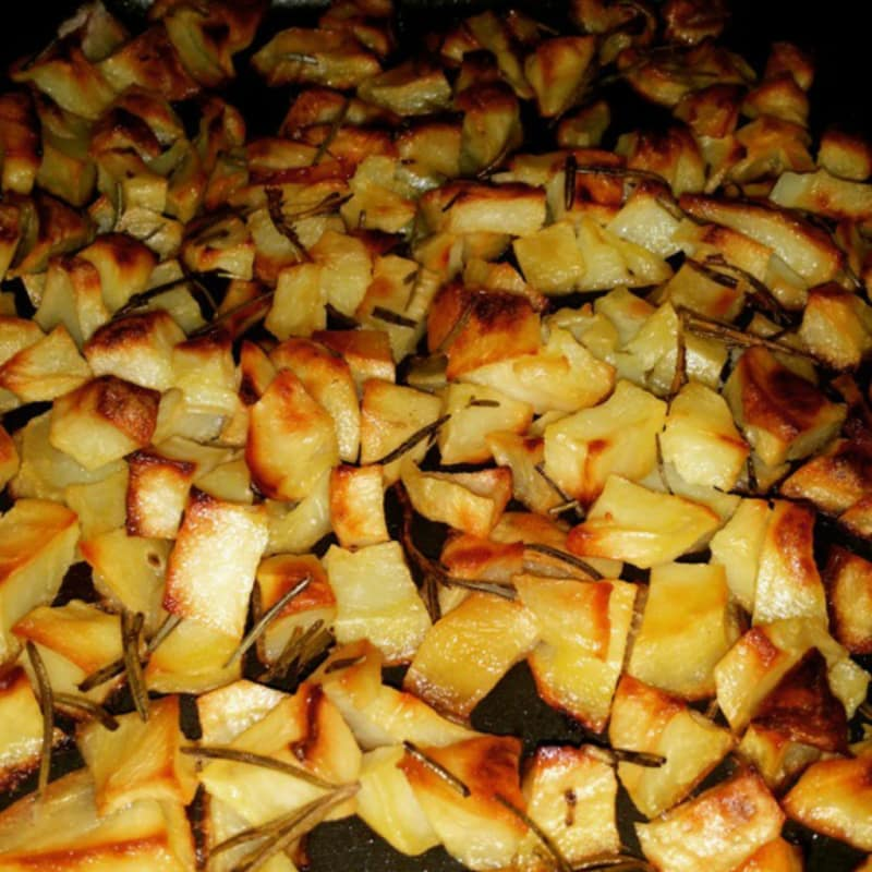 Un clásico patatas cocidas al horno