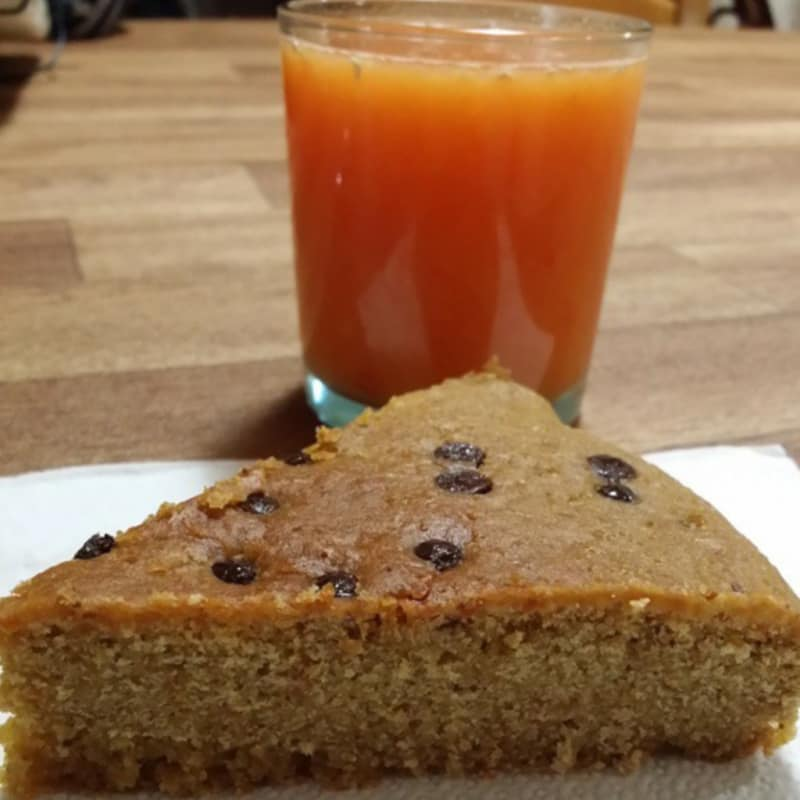 torta libre de gluten a naranja