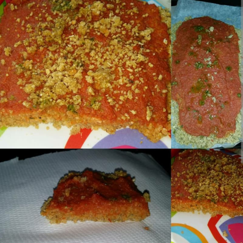 Pizza di quinoa