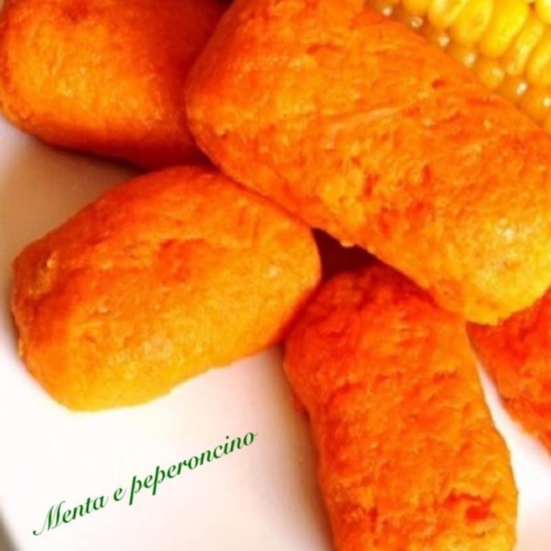 Croquetas luz zanahorias