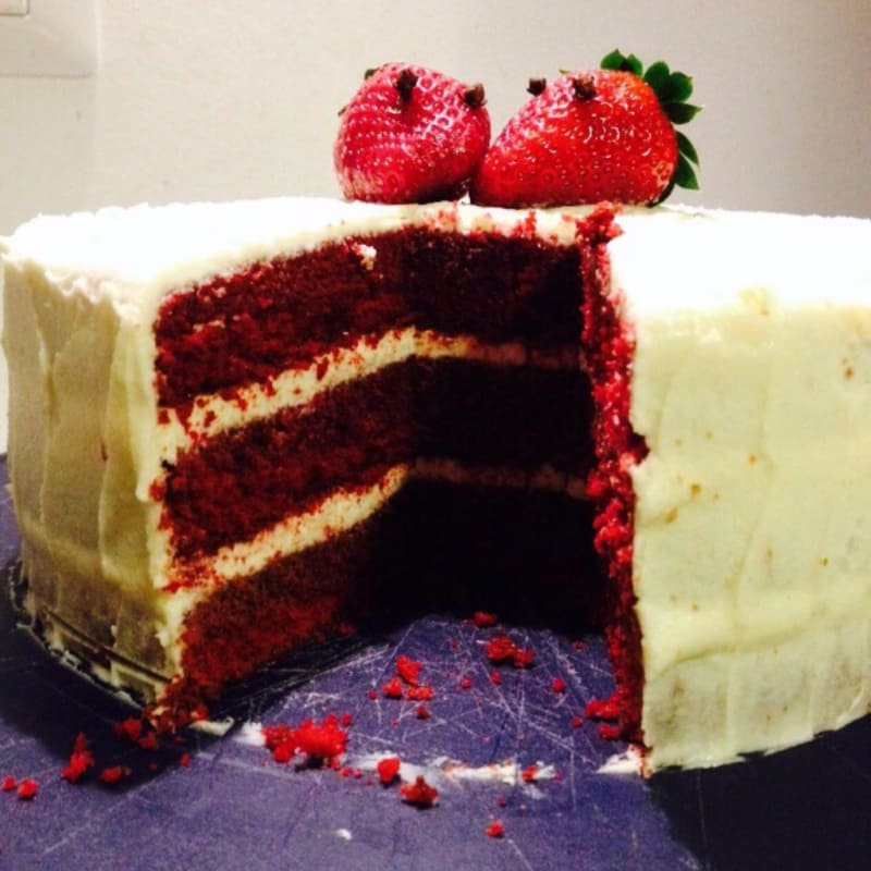 Red velvet glutenfree