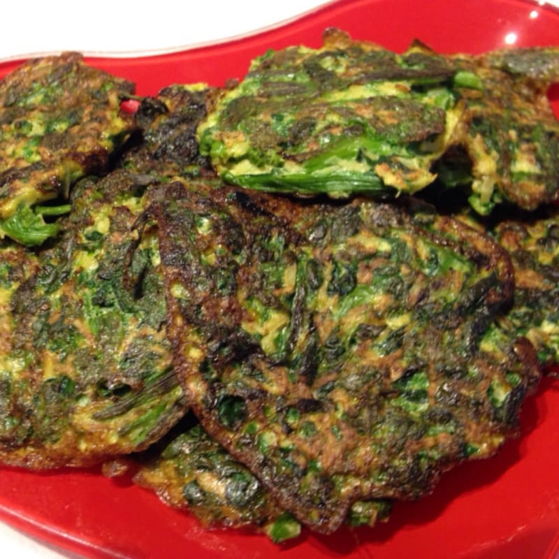 Deep fried vegetables
