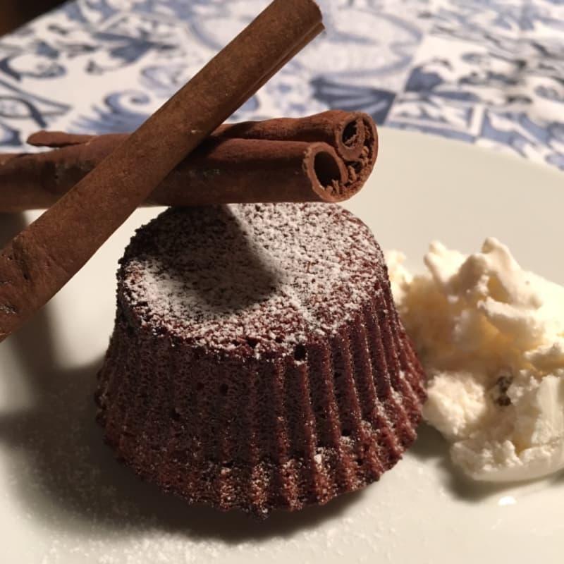 el chocolate con empanadas centro blando