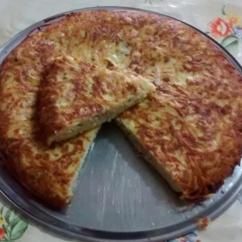 Espagueti Frittata