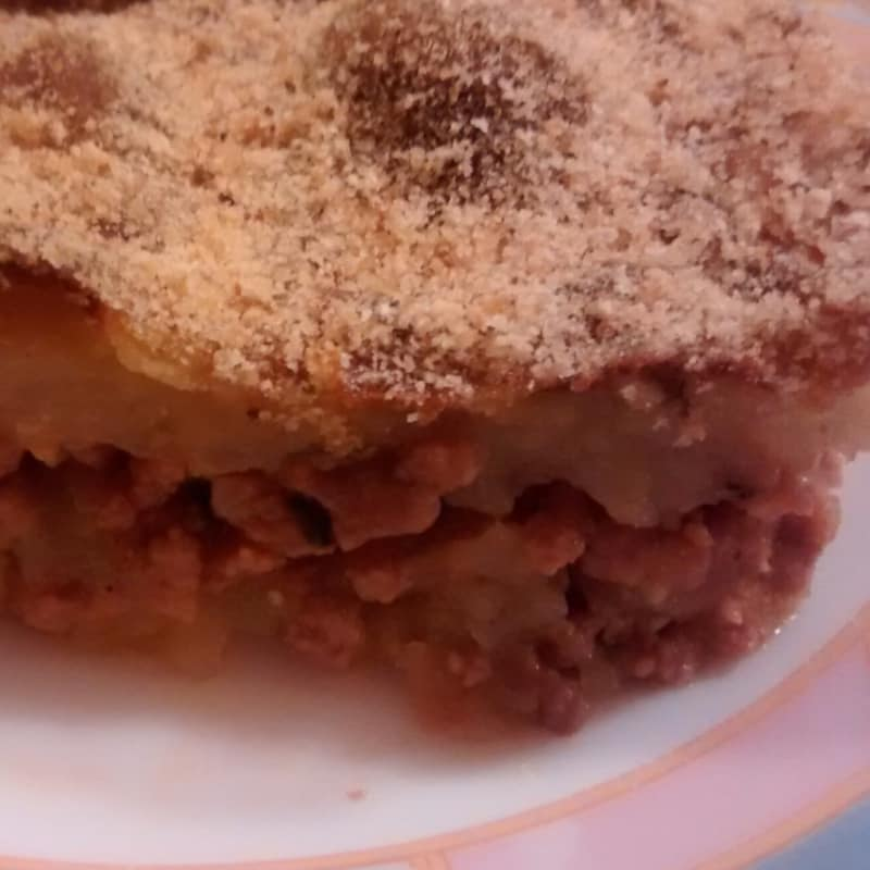 patatas Pie y carne