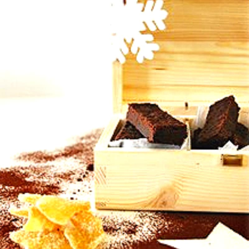 Shortbread al cacao e zenzero