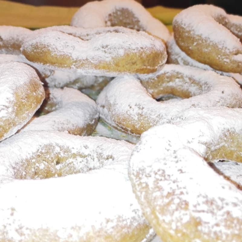 Donuts a panadería vegetariana