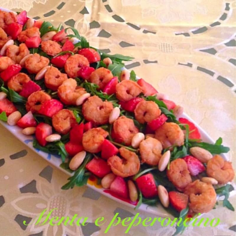 spring shrimp salad