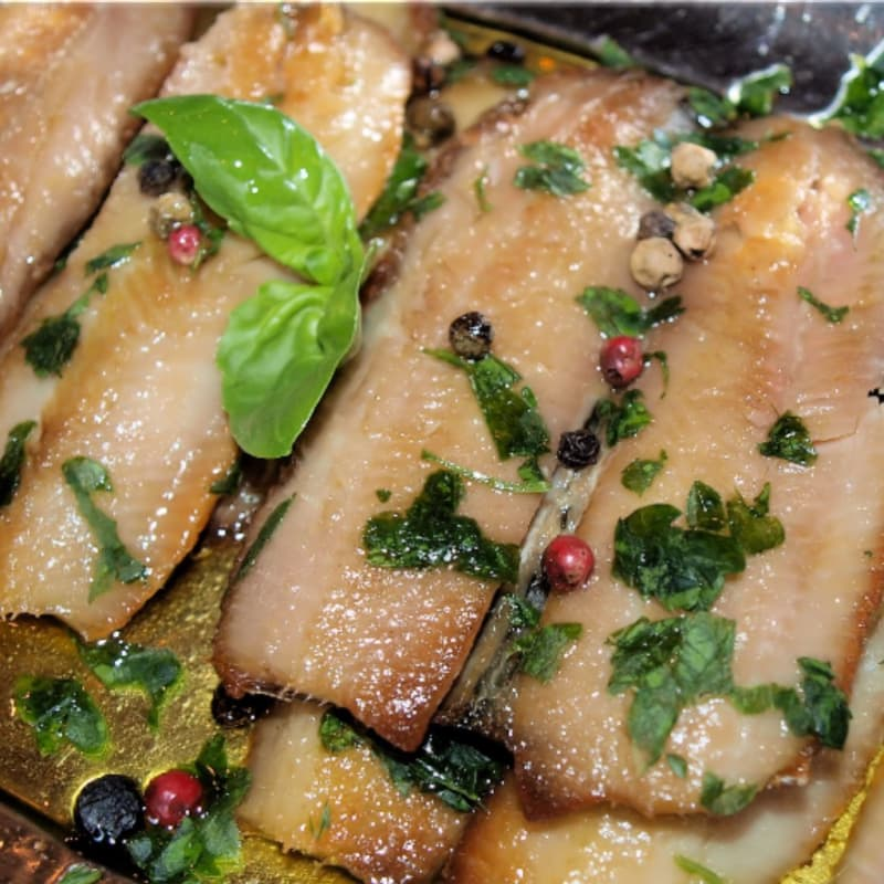 Herring fillets in marinade fast