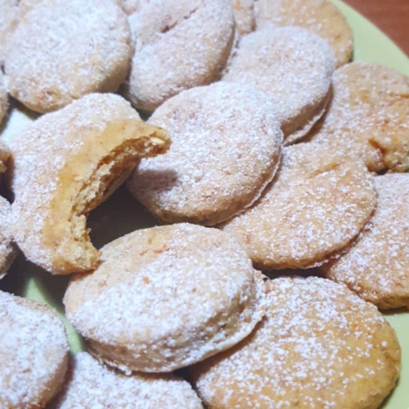 Galletas vegano de coco y lima