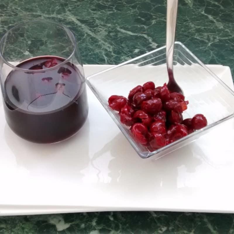 El zumo de cereza hecho en casa