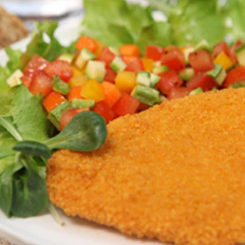 Ortaiole con verduras crujientes