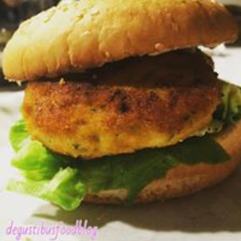 Fishburger di merluzzo