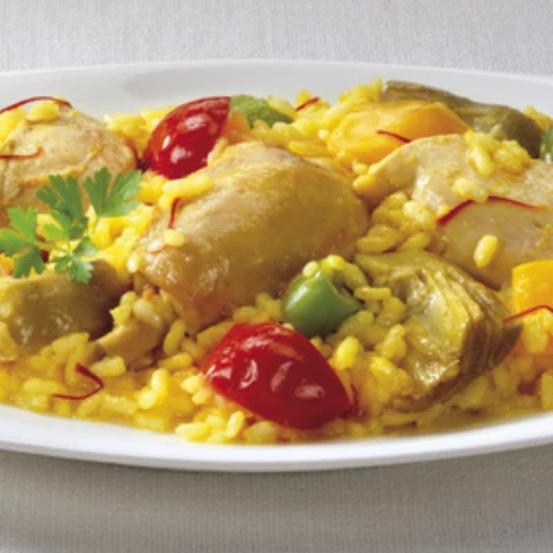 Paella especial con pollo