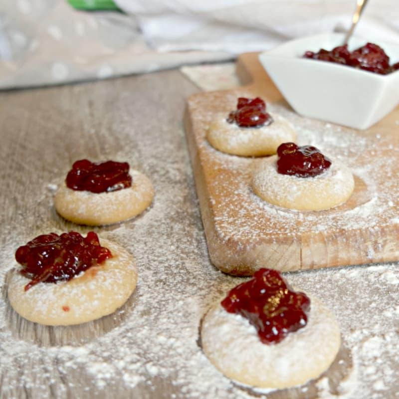 galletas de gluten de ojos de buey
