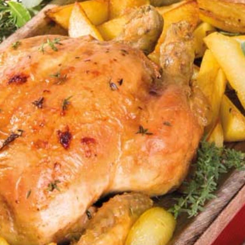clásico pollo asado
