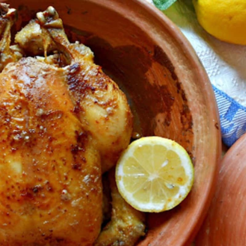 Chicken with seven spices