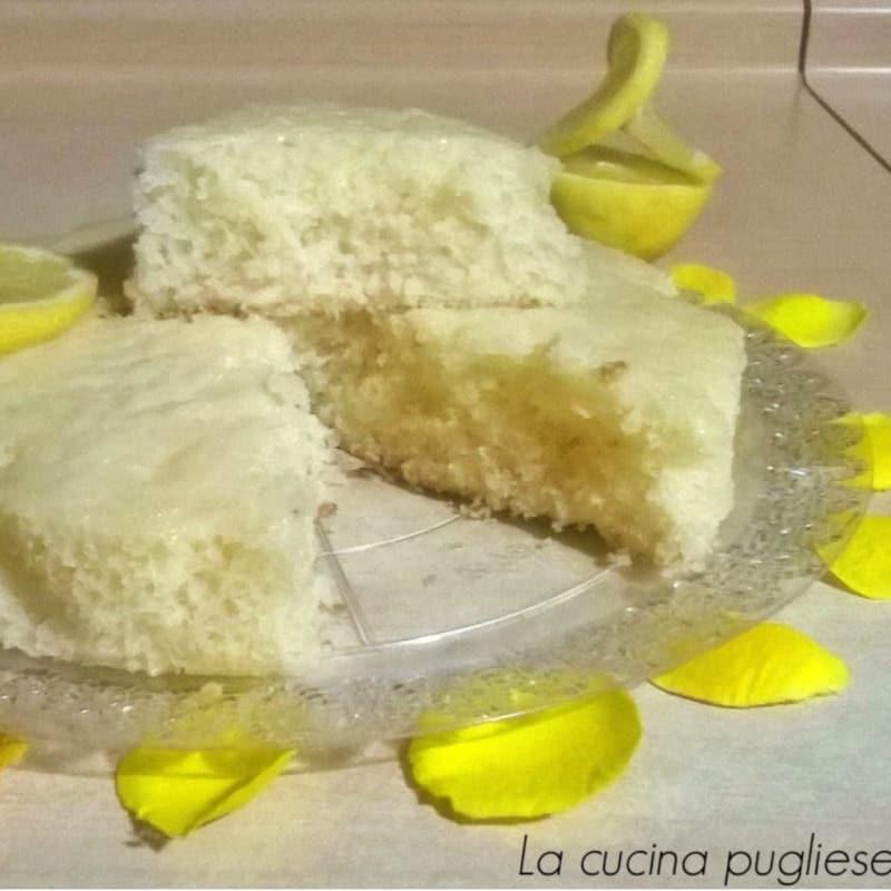 Torta al limone senza uova e burro