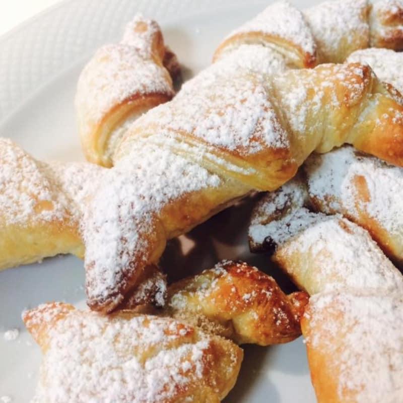 Croissant di pasta sfoglia