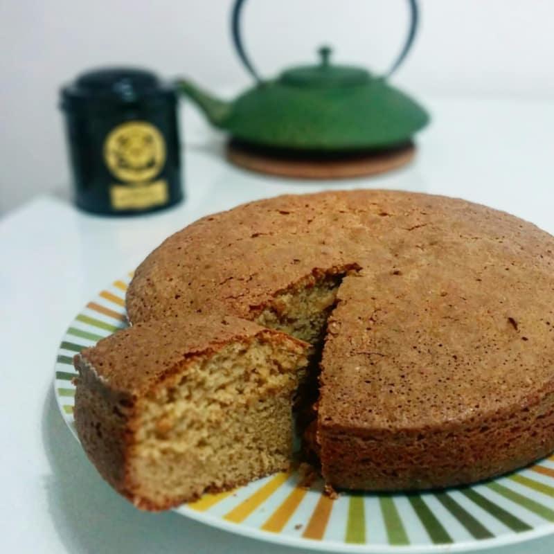 pastel de amaretto