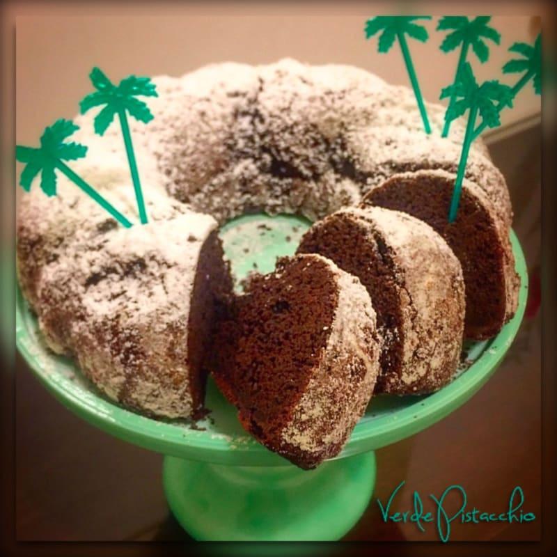 Donut de chocolate con gluten harina de arroz libre