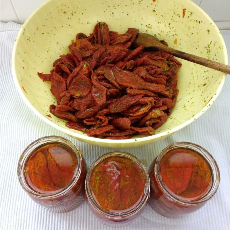 tomates secos en aceite