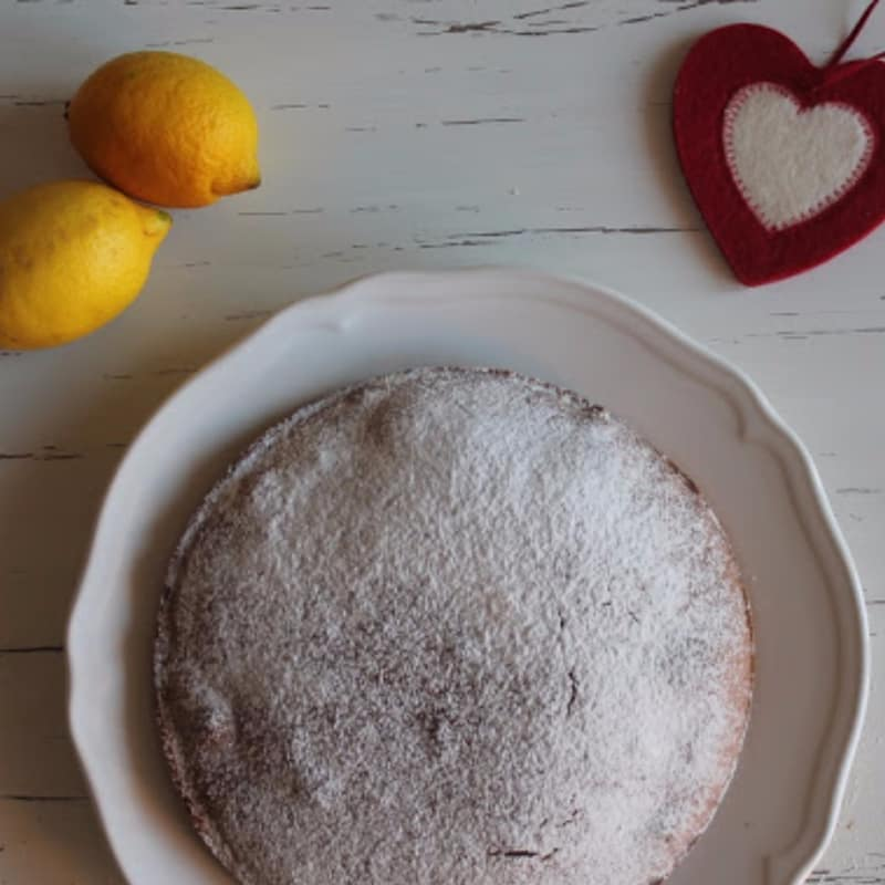 Torta veg al limone