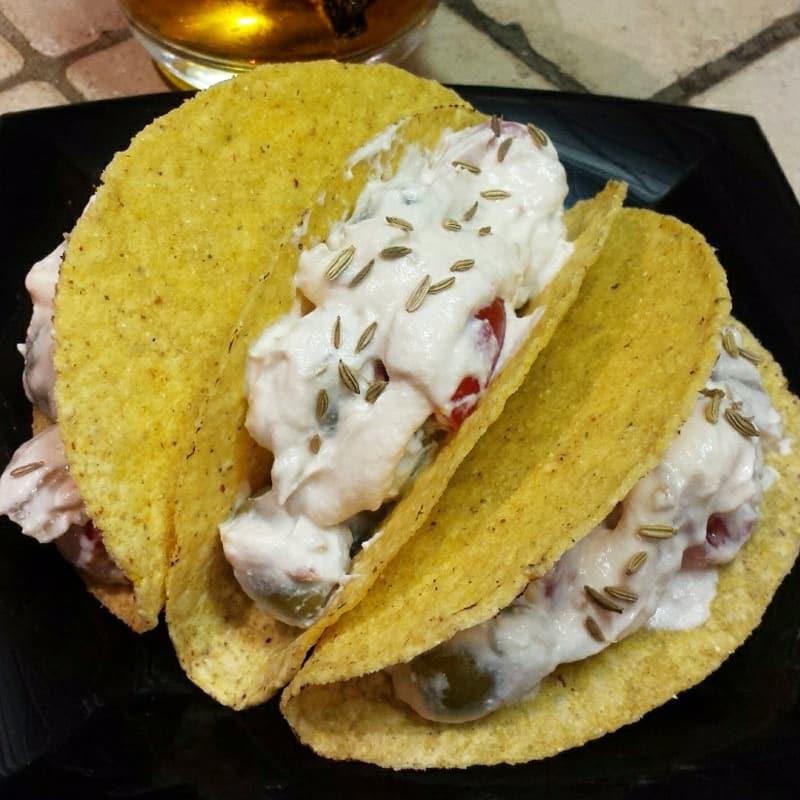 Tacos farciti per aperitivo