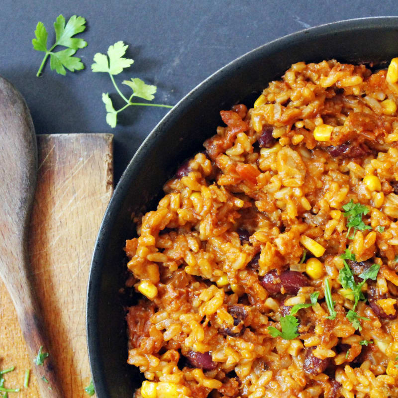 mexicano del arroz