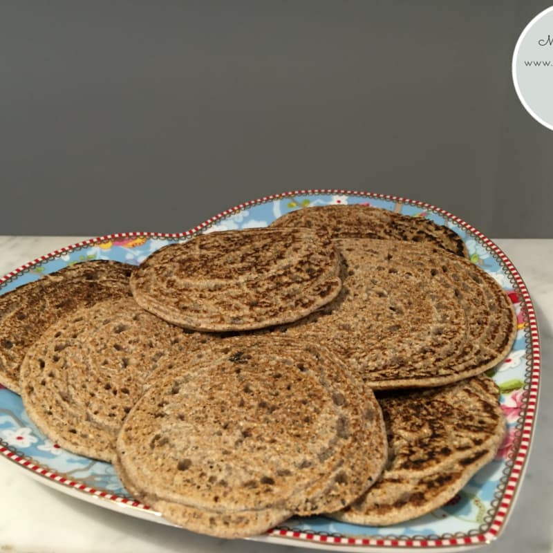 Chapaccine buckwheat tigelline in a pan without fat, sen