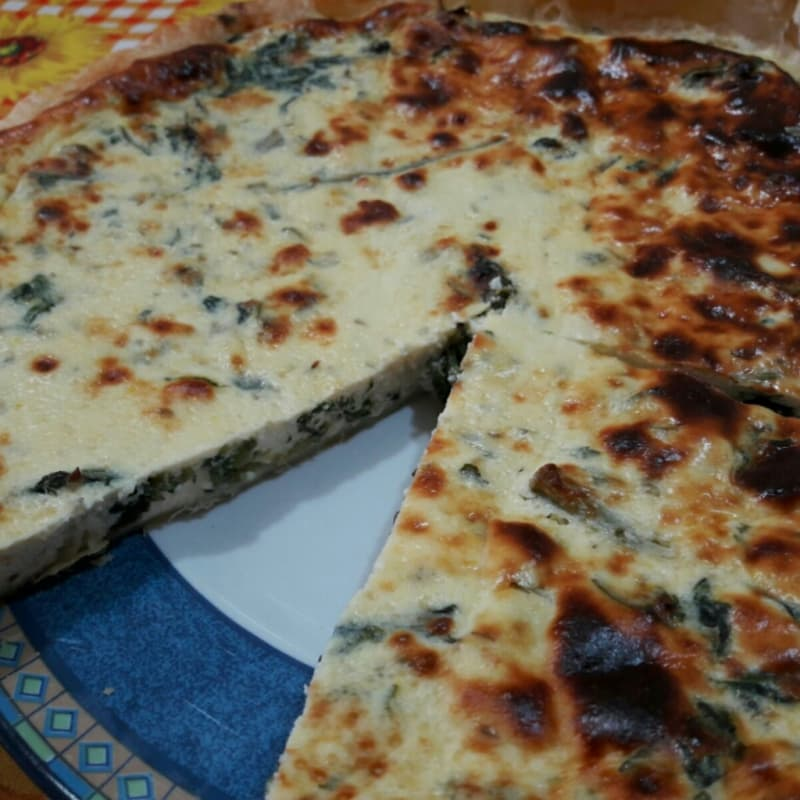 Rustico with Swiss chard and ricotta