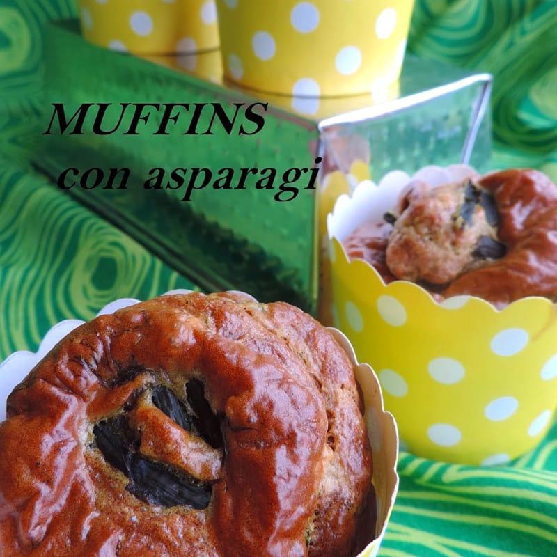 Muffins con asparagi