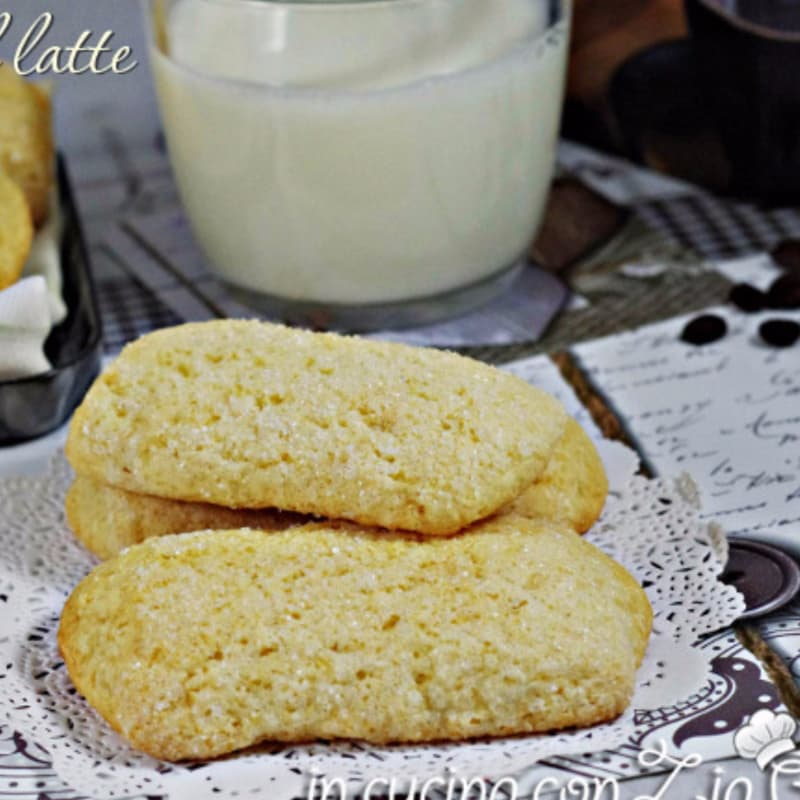Biscotti al latte senza burro