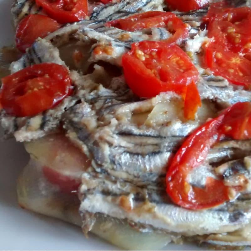 sardinas Pie