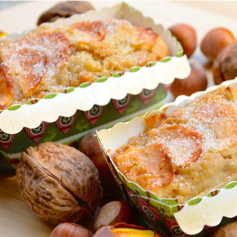 Miniplumcakes manzanas y canela