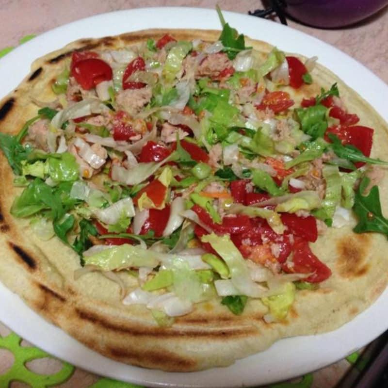 Pizza con verdure