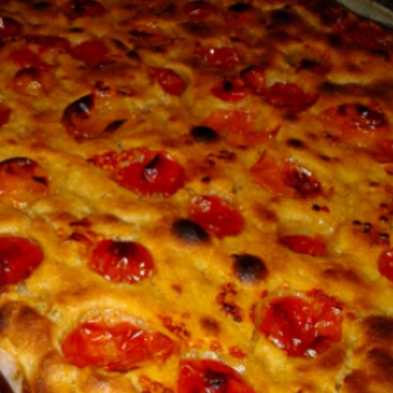 Bari-style focaccia bread