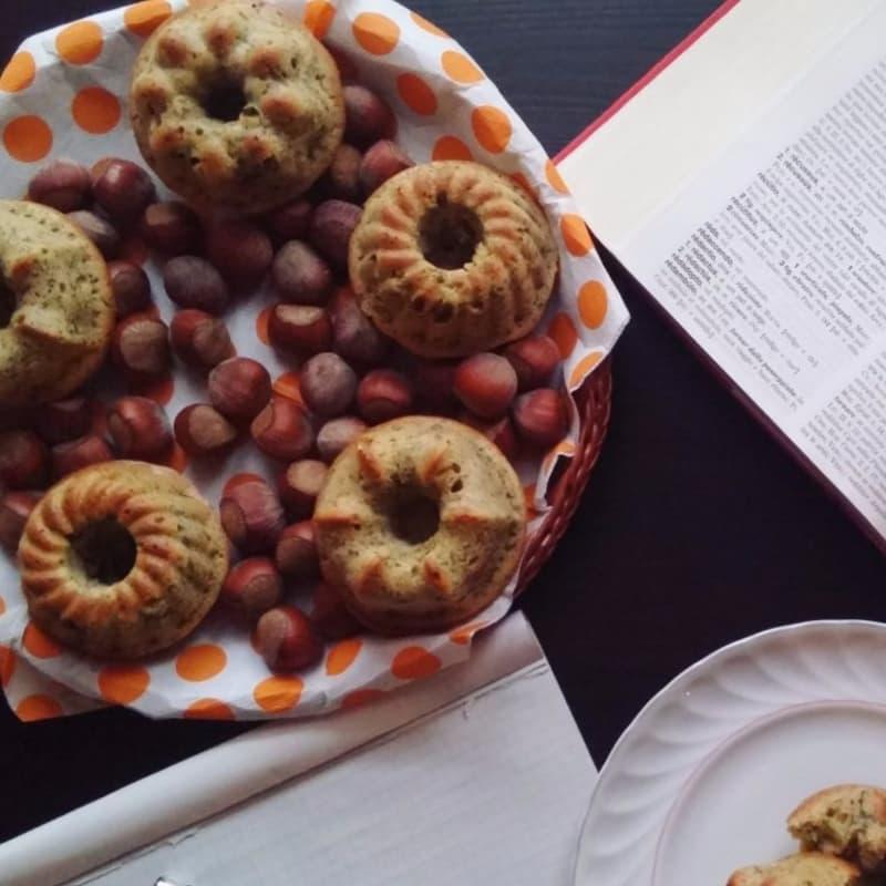 avellanas pretzels salados, escarola y yogur griego sin gluten