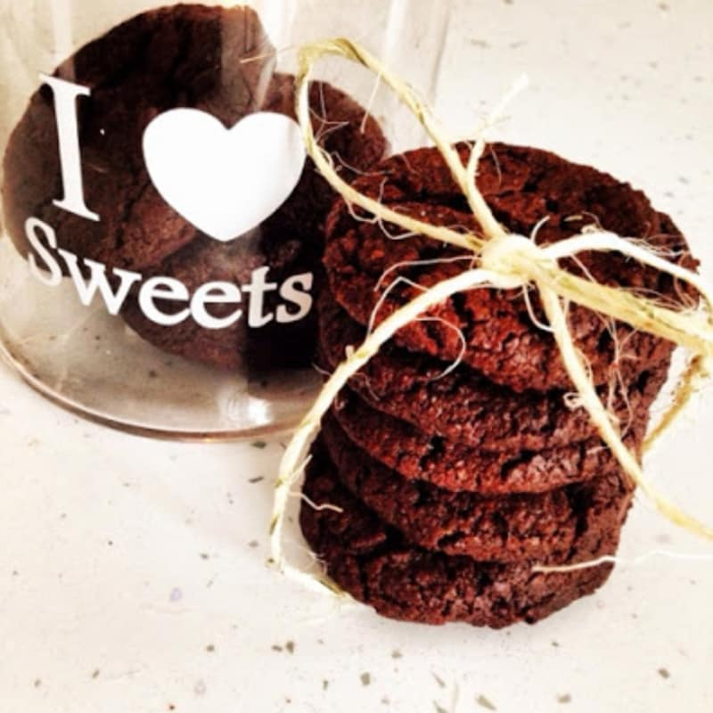 Cookies al cioccolato e fleur de sel