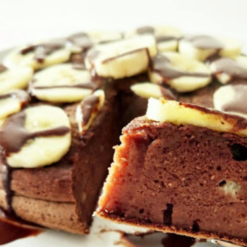 Pancake cacao e banana