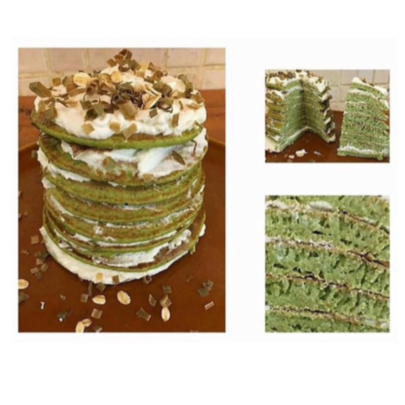 Tortitas de avena con el calabacín