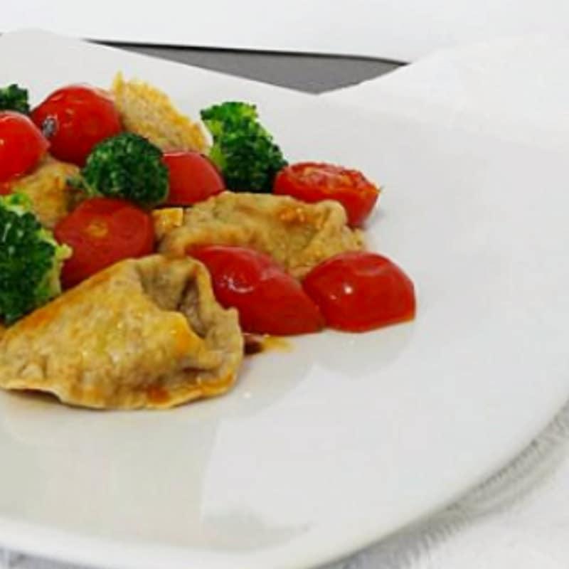 integrales Tortelli brócoli y las nueces