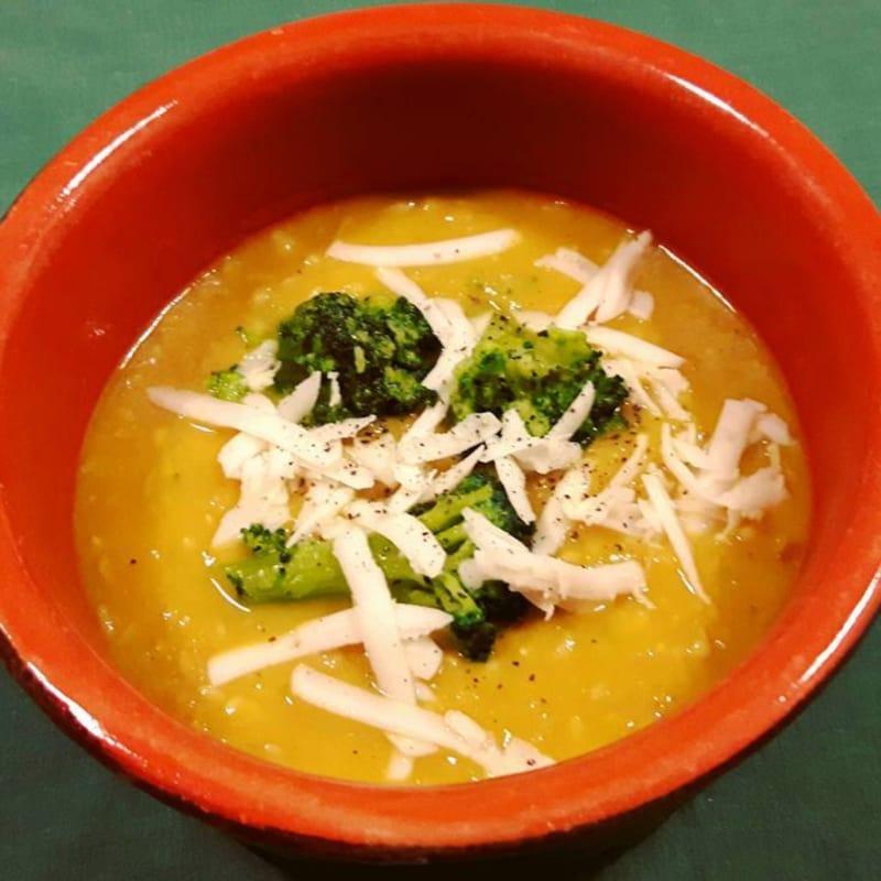 Zuppa di avena e zucca