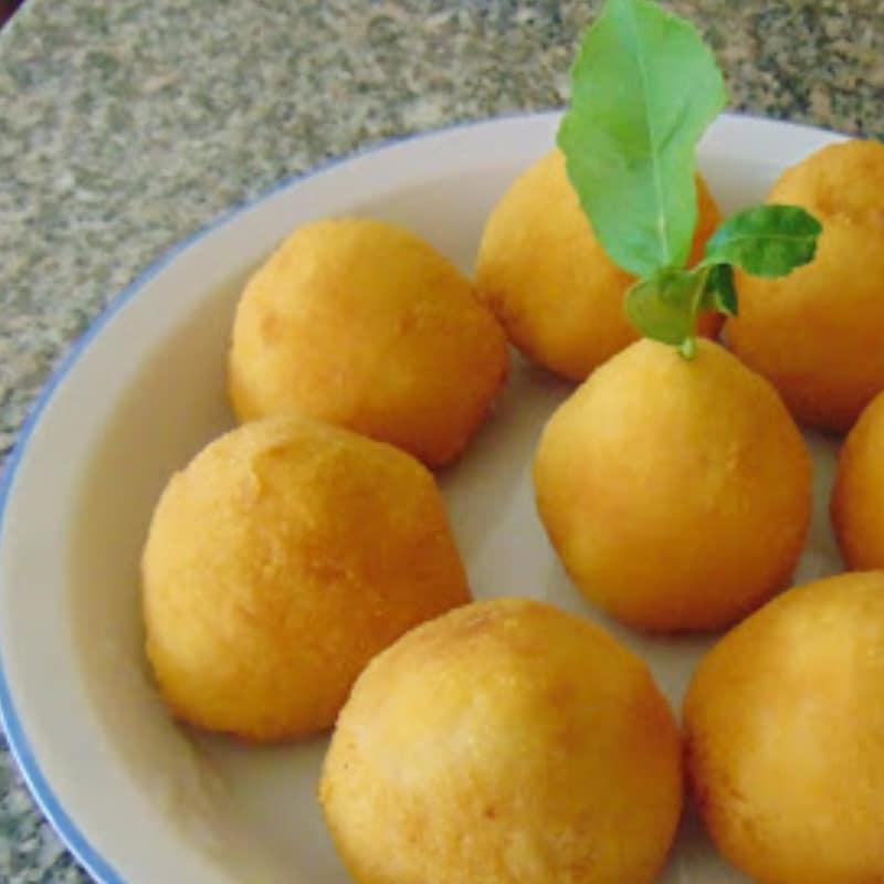 bolas de arroz siciliana o casi