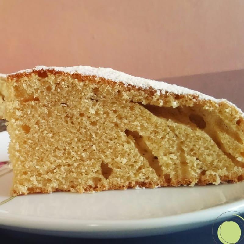 leche caliente torta de gluten, lactosa y mantequilla