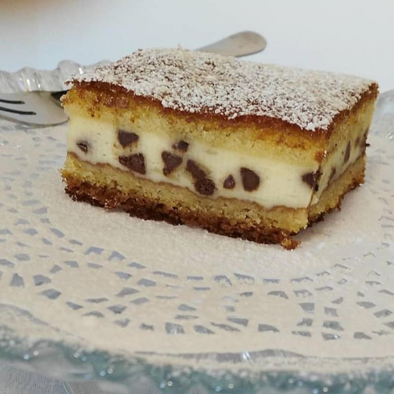Cake vertió ricotta