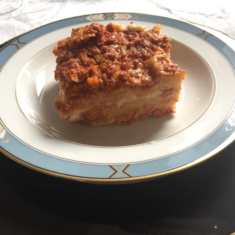 Lasagne ricche