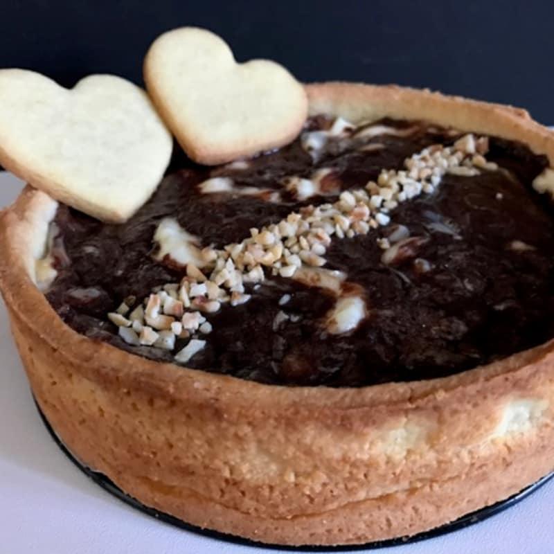 Nutella y mascarpone Tarta