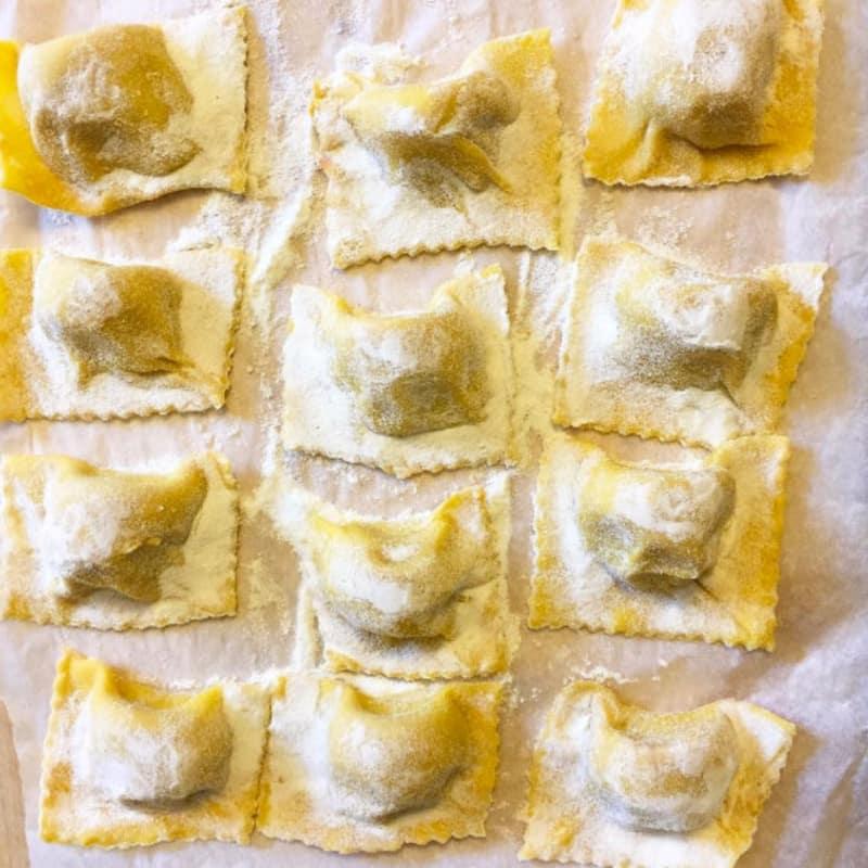 Tortelli di zucca alla parmigiana