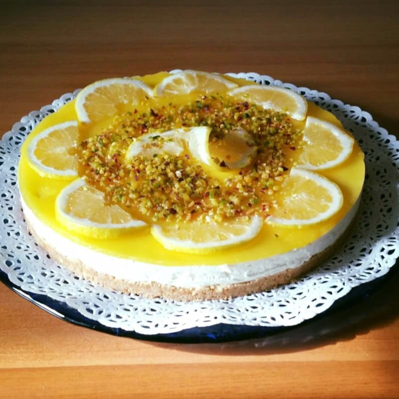 Cheesecake a limone